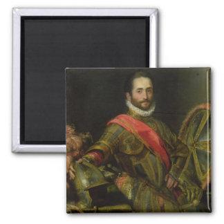 Retrato del della Rovere, c.1572 (aceite de Franci Imán Cuadrado