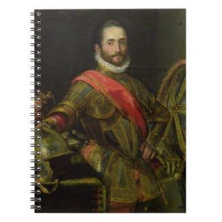 Retrato del della Rovere, c.1572 (aceite de Franci Notebook