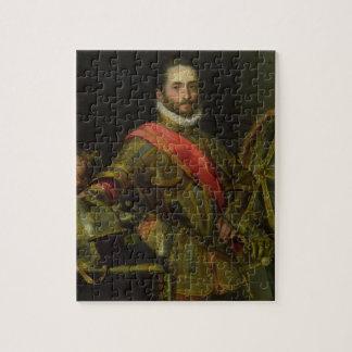 Retrato del della Rovere, c.1572 (aceite de Franci Rompecabezas Con Fotos