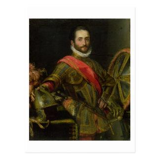 Retrato del della Rovere, c.1572 (aceite de Franci Tarjeta Postal