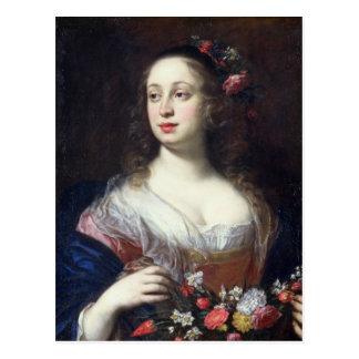 Retrato del della Rovere de Vittoria vestido como Postales