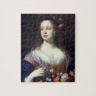 Retrato del della Rovere de Vittoria vestido como  Rompecabezas Con Fotos