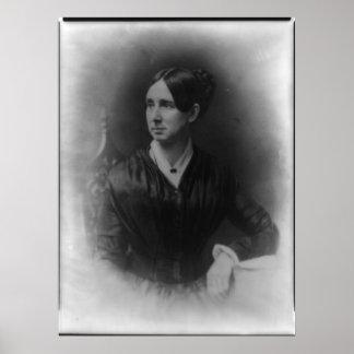 Retrato del DIX de Dorothea Lynde Póster
