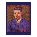 Retrato del doctor Felix Rey de Vincent van Gogh Postal