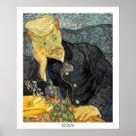 Retrato del doctor Gachet de Vincent van Gogh Impresiones