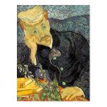 Retrato del doctor Gachet de Vincent van Gogh Tarjeta Postal