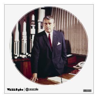 Retrato del doctor Wernher von Braun