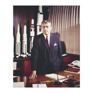 Retrato del doctor Wernher von Braun Lona Estirada Galerías