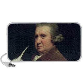 Retrato del Dr. Erasmus Darwin Laptop Altavoces