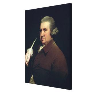 Retrato del Dr Erasmus Darwin Lona Envuelta Para Galerias