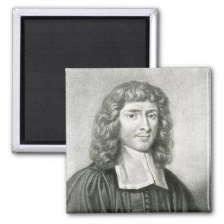 Retrato del Dr. Isaac Barrow Imán Cuadrado