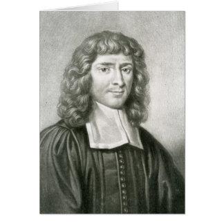 Retrato del Dr. Isaac Barrow Tarjeta De Felicitación