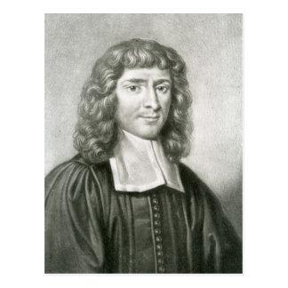 Retrato del Dr. Isaac Barrow Tarjetas Postales