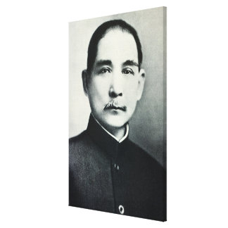 Retrato del Dr Sun Yat-sen Lienzo Envuelto Para Galerías