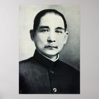 Retrato del Dr. Sun Yat-sen Póster