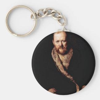 Retrato del dramaturgo Ostrovsky cerca un Perow Llavero Redondo Tipo Pin