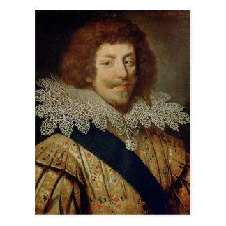 Retrato del duque de Enrique de Montmorency Postales
