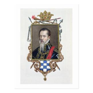 Retrato del duque de Fernando Alvarez de Toledo de Postales