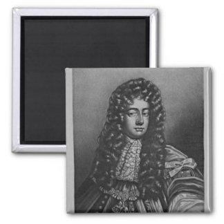 Retrato del duque de Henry de Grafton Imán Cuadrado