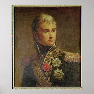 Retrato del duque de Jean Lannes de Montebello Póster