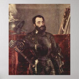 Retrato del duque de Urbino Posters