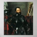 Retrato del duque de Urbino por Titian Impresiones