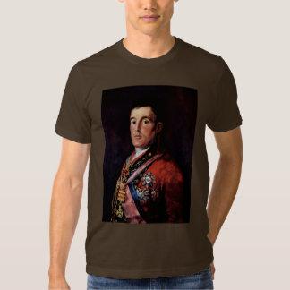 Retrato del duque Of Wellington Camisas