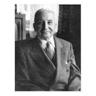 Retrato del economista austríaco Ludwig von Mises Postales