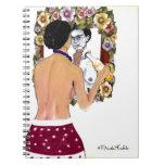 Retrato del EL Espejo del en de Frida Kahlo Spiral Notebook