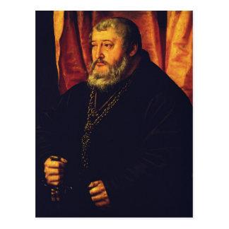 Retrato del elector Palatine Otto Henry Tarjetas Postales