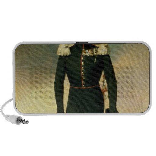 Retrato del emperador Alejandro I 1825 iPod Altavoces