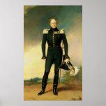 Retrato del emperador Alejandro I 1825 Poster