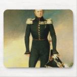 Retrato del emperador Alejandro I 1825 Tapete De Raton