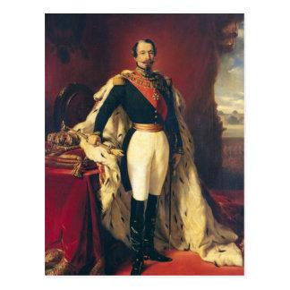Retrato del emperador de Napoleon III de Francia Postales
