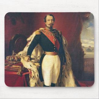 Retrato del emperador de Napoleon III de Francia Tapete De Ratones