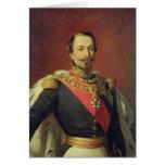Retrato del emperador Louis Napoleon III Felicitación
