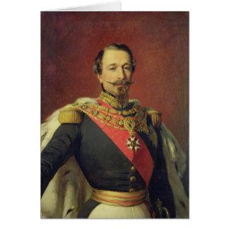 Retrato del emperador Louis Napoleon III Tarjeta De Felicitación