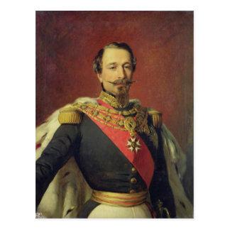 Retrato del emperador Louis Napoleon III Postal