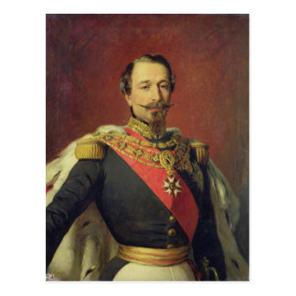 Retrato del emperador Louis Napoleon III Tarjetas Postales