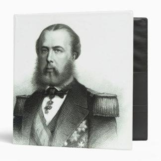 """Retrato del emperador Maximiliano de México, 1864 Carpeta 1 1/2"""""""