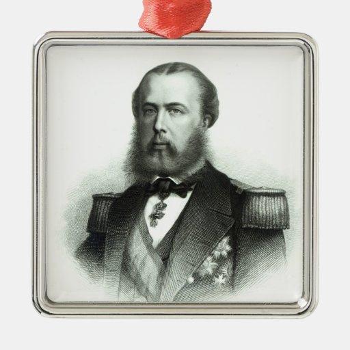 Retrato del emperador Maximiliano de México, 1864 Adorno De Reyes