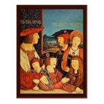 Retrato del emperador Maximiliano y de su familia Postal