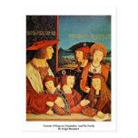 Retrato del emperador Maximiliano y de su familia Tarjetas Postales