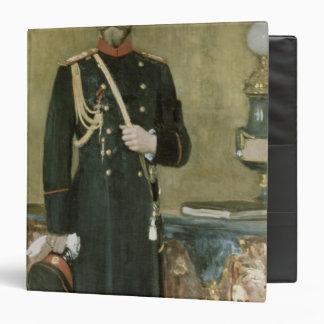 """Retrato del emperador Nicolás II 1895 Carpeta 1 1/2"""""""