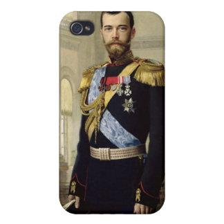 Retrato del emperador Nicolás II, 1900 iPhone 4 Cobertura