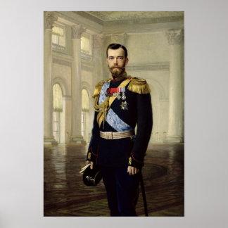 Retrato del emperador Nicolás II, 1900 Impresiones