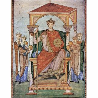 Retrato del emperador Otto Ii, con los símbolos de Escultura Fotografica