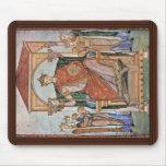 Retrato del emperador Otto Ii, con los símbolos de Tapete De Ratones