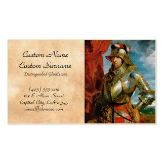 Retrato del emperador romano santo Rubens de Tarjetas De Visita