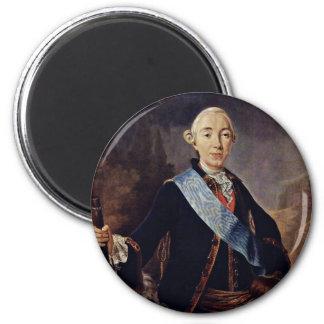 Retrato del emperador ruso Peter Iii Por Pfan Iman De Frigorífico